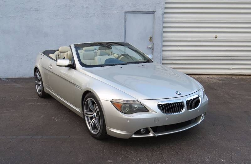 Bmw Series Ci Dr Convertible In Hollywood FL - 2005 convertible bmw