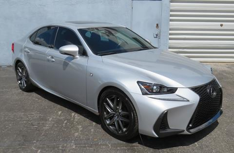 2017 Lexus IS 200t for sale in Hollywood, FL