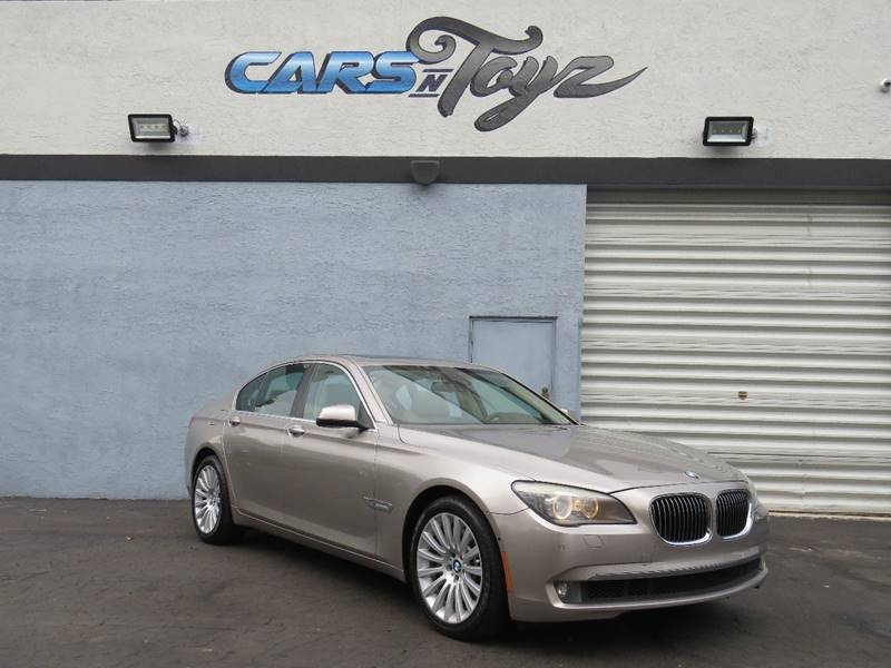2012 BMW 7 Series 750i 4dr Sedan - Hollywood FL
