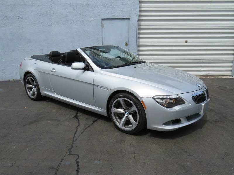 2009 BMW 6 Series 650i 2dr Convertible - Hollywood FL