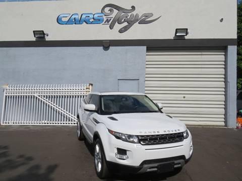 2013 Land Rover Range Rover Evoque Coupe