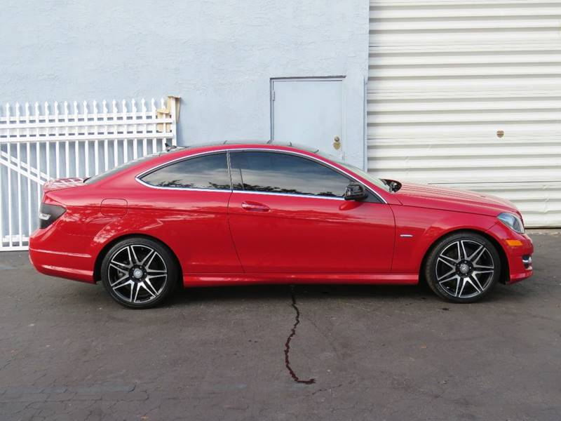 2013 Mercedes-Benz C-Class C250 2dr Coupe In Hollywood FL