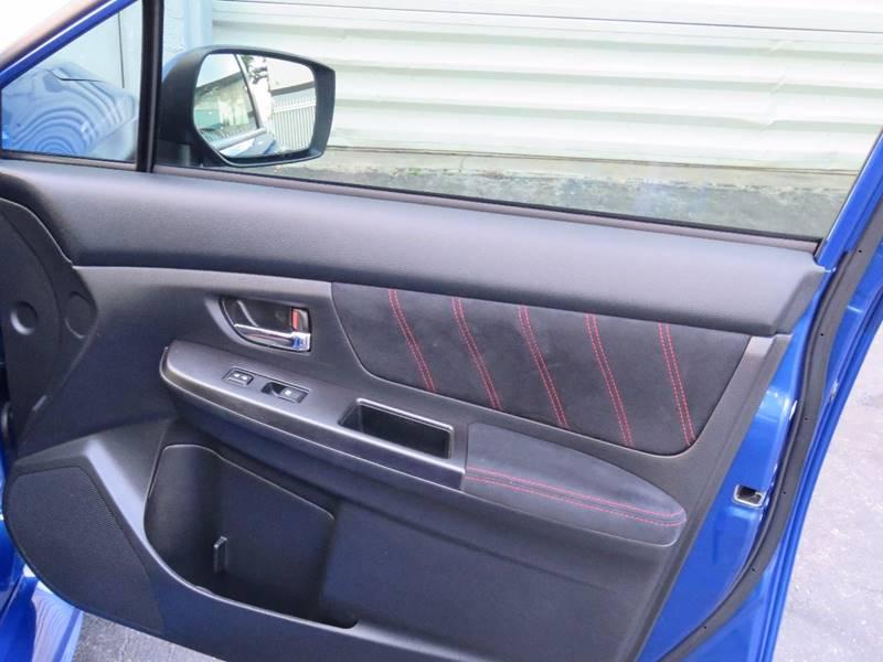 2015 Subaru WRX AWD STI 4dr Sedan - Hollywood FL