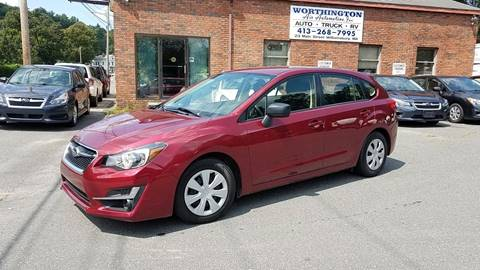 2015 Subaru Impreza for sale at Worthington Air Automotive Inc in Williamsburg MA