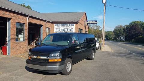 2017 Chevrolet Express Passenger for sale in Williamsburg, MA