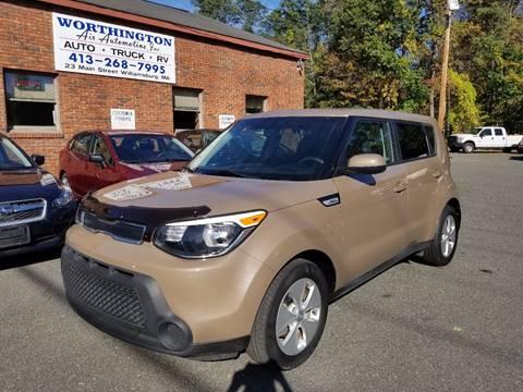 2015 Kia Soul for sale in Williamsburg, MA
