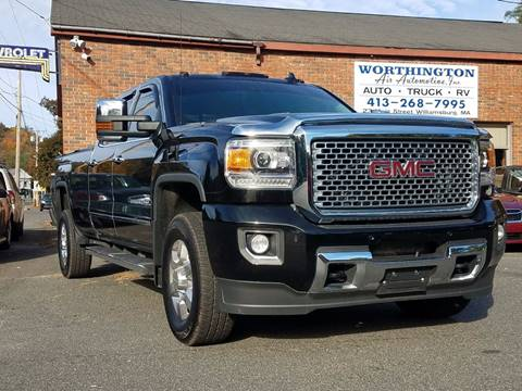 2016 GMC Sierra 3500HD for sale in Williamsburg, MA