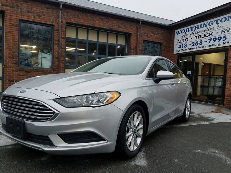 2017 Ford Fusion for sale at Worthington Air Automotive Inc in Williamsburg MA