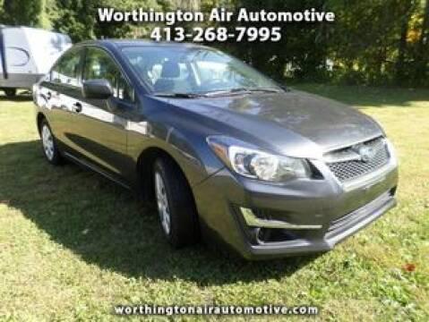 2016 Subaru Impreza for sale at Worthington Air Automotive Inc in Williamsburg MA
