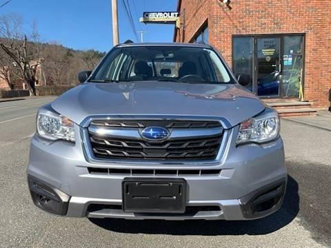 2017 Subaru Forester 2.5i for sale at Worthington Air Automotive Inc in Williamsburg MA