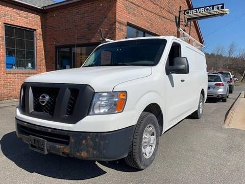 2015 Nissan NV Cargo 1500 SV for sale at Worthington Air Automotive Inc in Williamsburg MA