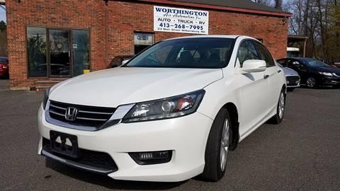 2014 Honda Accord for sale in Williamsburg, MA