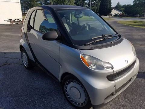 2011 Smart fortwo for sale at Happy Days Auto Sales in Piedmont SC
