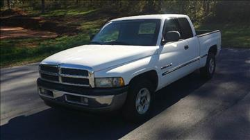 1999 Dodge Ram Pickup 1500 for sale at Happy Days Auto Sales in Piedmont SC