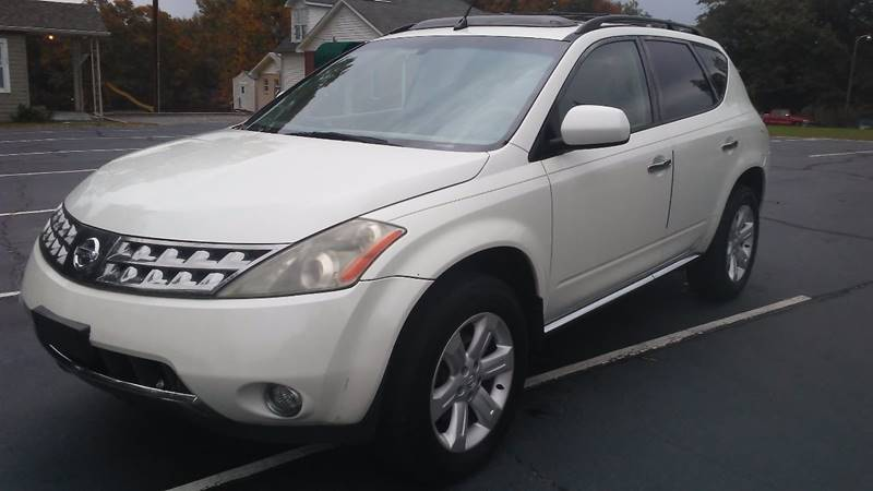 2006 Nissan Murano for sale at Happy Days Auto Sales in Piedmont SC