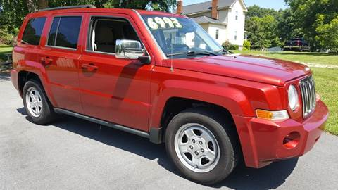2010 Jeep Patriot for sale at Happy Days Auto Sales in Piedmont SC