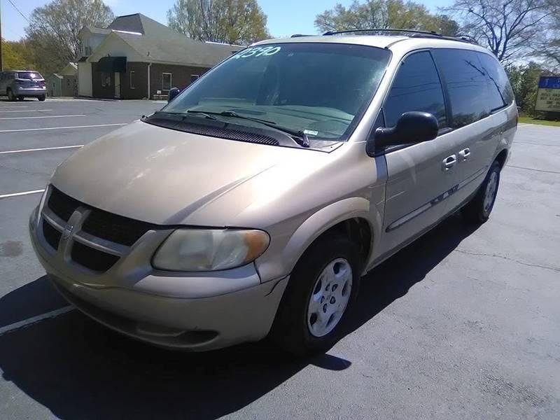 2002 Dodge Grand Caravan for sale at Happy Days Auto Sales in Piedmont SC