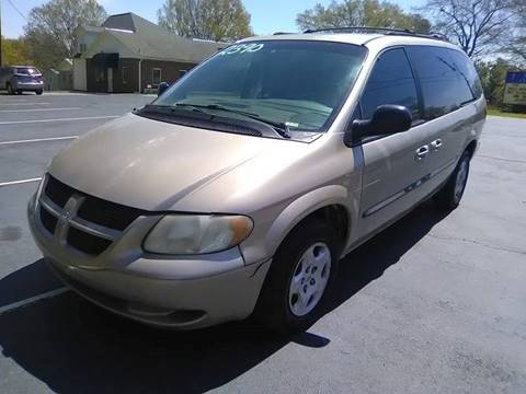 2002 Dodge Grand Caravan for sale at Happy Days Auto Sales in Piedmont SC