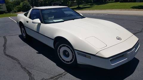1985 Chevrolet Corvette for sale at Happy Days Auto Sales in Piedmont SC