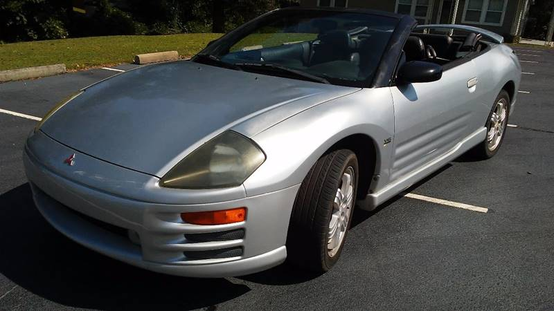 2001 Mitsubishi Eclipse Spyder for sale at Happy Days Auto Sales in Piedmont SC