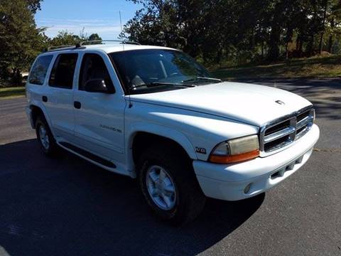 1999 Dodge Durango for sale at Happy Days Auto Sales in Piedmont SC