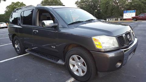2005 Nissan Armada for sale at Happy Days Auto Sales in Piedmont SC