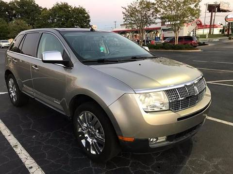 2008 Lincoln MKX for sale at Happy Days Auto Sales in Piedmont SC
