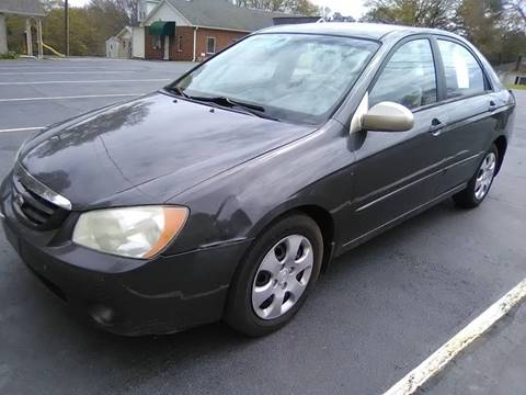2006 Kia Spectra for sale at Happy Days Auto Sales in Piedmont SC