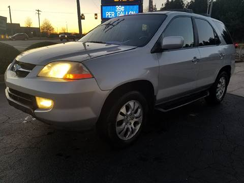 2003 Acura MDX for sale at Happy Days Auto Sales in Piedmont SC
