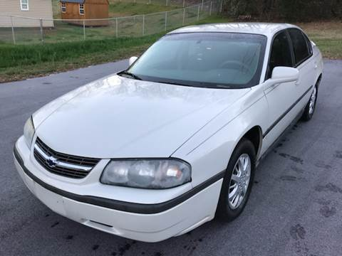 2003 Chevrolet Impala for sale at Happy Days Auto Sales in Piedmont SC