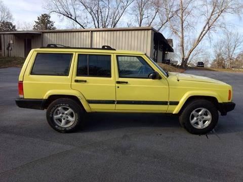2001 Jeep Cherokee for sale at Happy Days Auto Sales in Piedmont SC