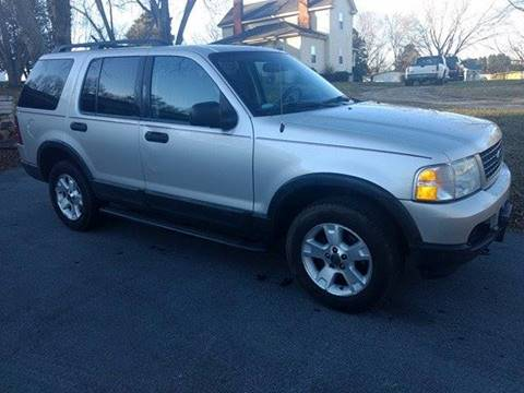 2003 Ford Explorer for sale at Happy Days Auto Sales in Piedmont SC