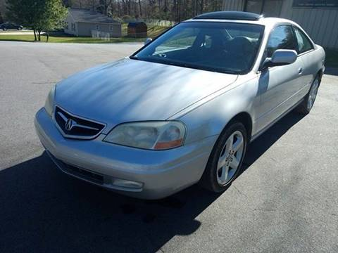 2001 Acura CL for sale at Happy Days Auto Sales in Piedmont SC