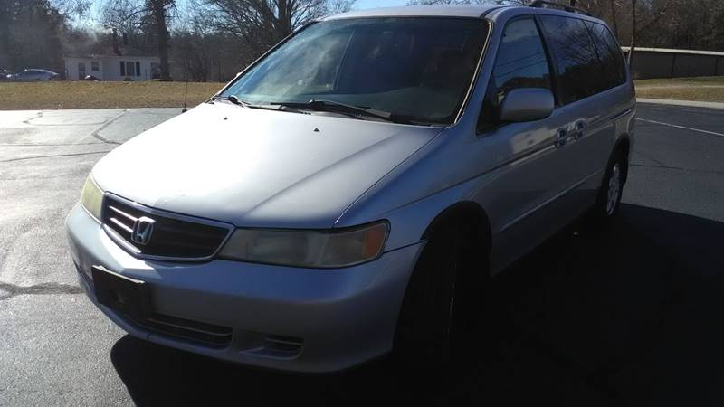 2003 Honda Odyssey EX L 4dr Mini Van W/DVD And Leather
