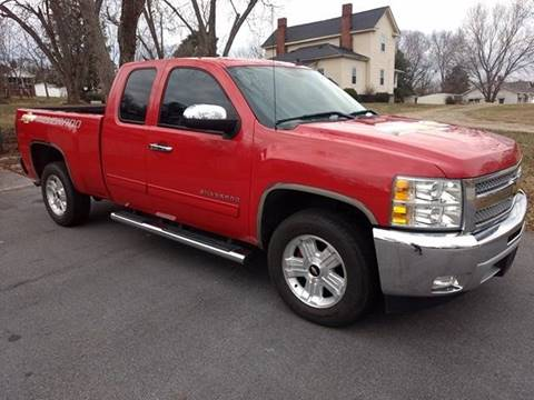 2012 Chevrolet Silverado 1500 for sale at Happy Days Auto Sales in Piedmont SC