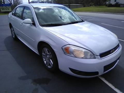 2011 Chevrolet Impala for sale at Happy Days Auto Sales in Piedmont SC