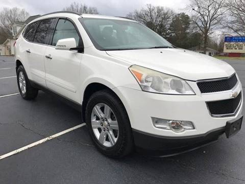 2011 Chevrolet Traverse for sale at Happy Days Auto Sales in Piedmont SC