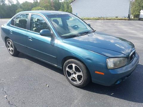 2001 Hyundai Elantra for sale at Happy Days Auto Sales in Piedmont SC