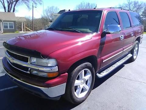 2004 Chevrolet Suburban for sale at Happy Days Auto Sales in Piedmont SC