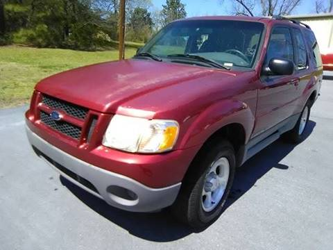 2002 Ford Explorer Sport for sale at Happy Days Auto Sales in Piedmont SC