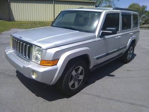 2007 Jeep Commander for sale at Happy Days Auto Sales in Piedmont SC