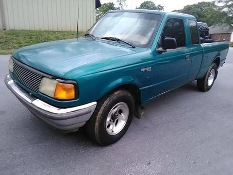 1995 Ford Ranger for sale at Happy Days Auto Sales in Piedmont SC