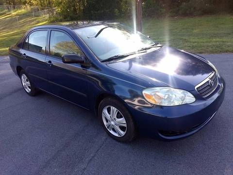2005 Toyota Corolla for sale at Happy Days Auto Sales in Piedmont SC