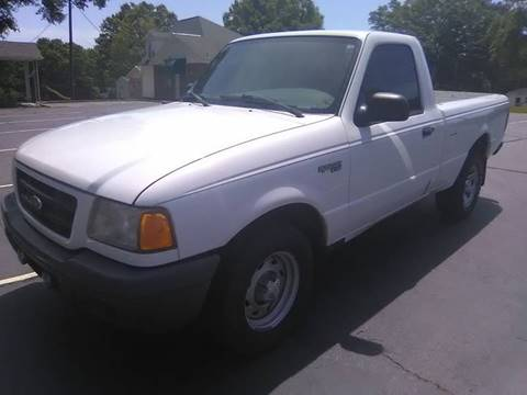 2003 Ford Ranger for sale at Happy Days Auto Sales in Piedmont SC
