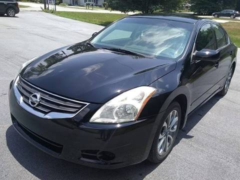 2010 Nissan Altima for sale at Happy Days Auto Sales in Piedmont SC