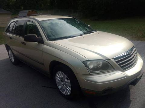 2006 Chrysler Pacifica for sale at Happy Days Auto Sales in Piedmont SC