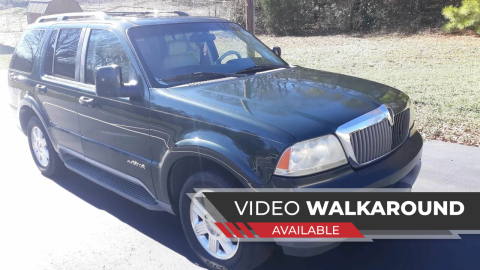 2003 Lincoln Aviator for sale at Happy Days Auto Sales in Piedmont SC