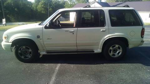 2000 Ford Explorer for sale at Happy Days Auto Sales in Piedmont SC