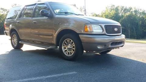 2002 Ford Expedition for sale at Happy Days Auto Sales in Piedmont SC