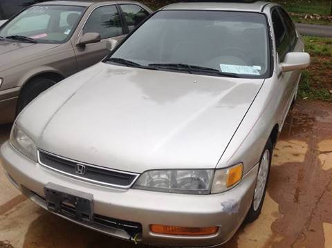 1997 Honda Accord for sale at Happy Days Auto Sales in Piedmont SC